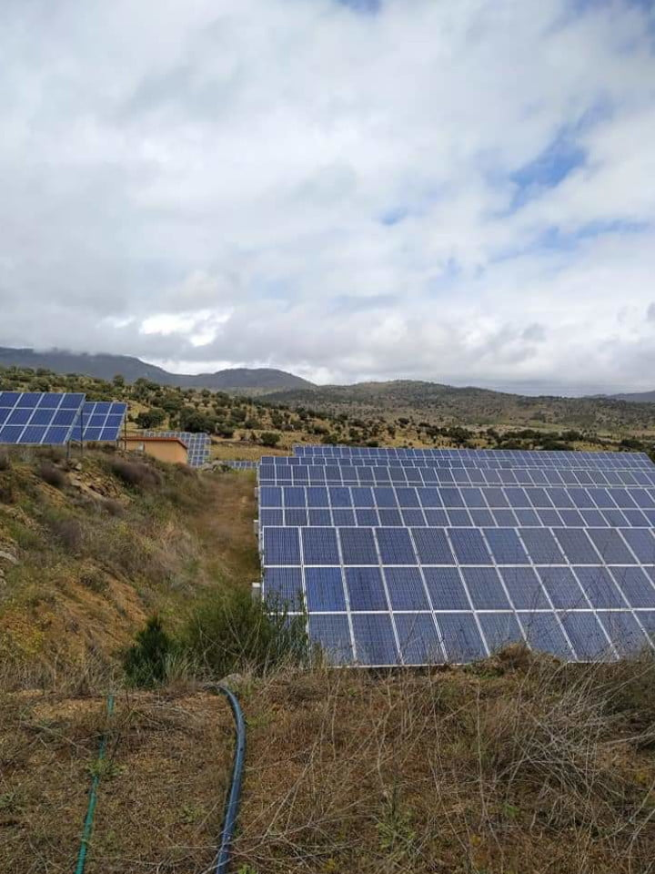 Mantenimiento Planta Fotovoltaica de Ávila