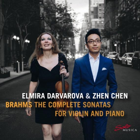 Elmira Darvarova & Zhen Chen – Brahms: The complete Sonatas for Violin & Piano