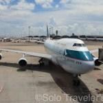 Cathay Pacific B747 退役