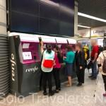 RENFE/スペイン鉄道 駅でのチケット発券