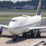 Delta Air Lines/デルタ航空 B747-400  〜成田空港の想い出〜