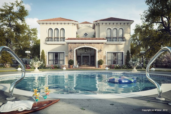 Tuscan Villa Of Day