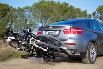 cargar la bici en el coche señalización