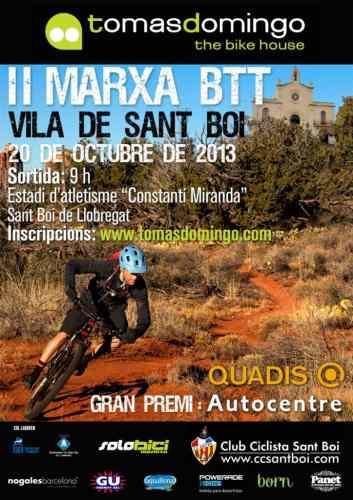 CASTEL II MARTXA BTT VILA DE SANT BOI