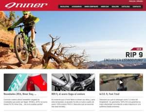 Nueva web Niner