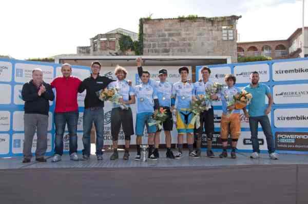Campeones de Galicia 2013 de enduro