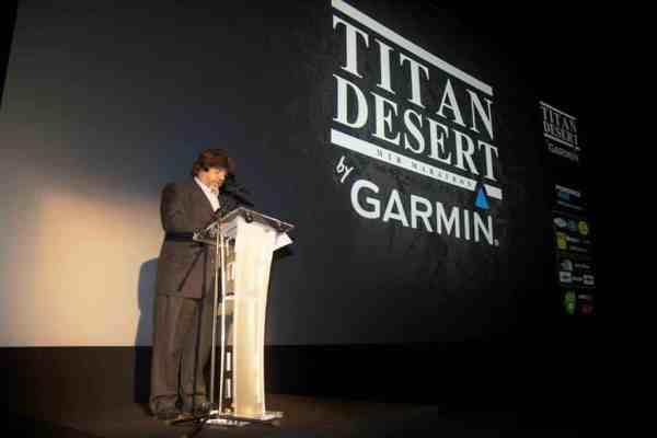 Félix Dot, director general Titan Desert