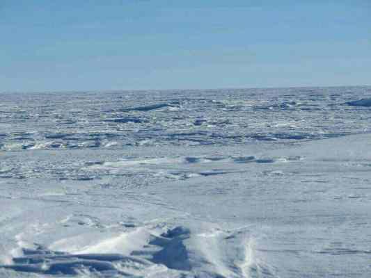 Éste es el paisaje que se va encontrando Juan estos días.