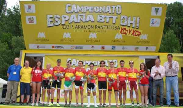 podio ganadores senior y masters