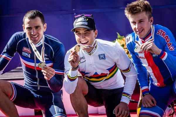 Nino Schurter, Julien Absalon y Ondrej Cink; oro, plata y bronce respectivamente