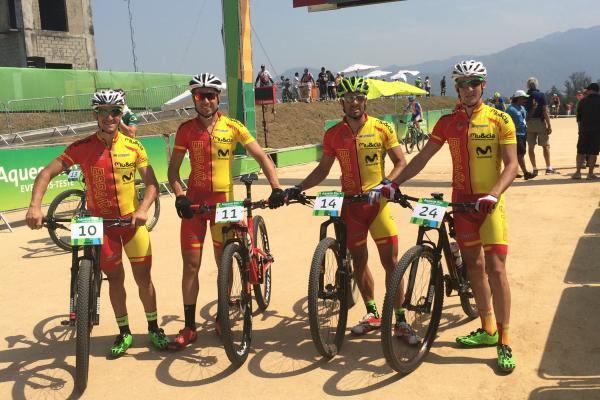 3 españoles en Río 2016