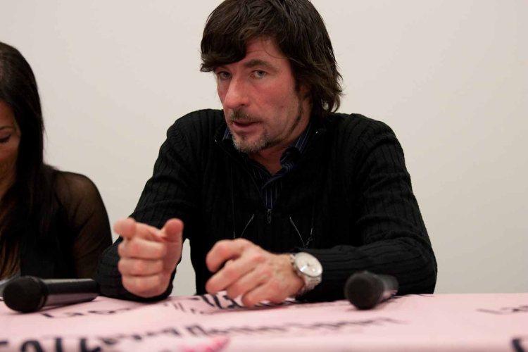 Gianni Bugno, presidente de la Asociación de Ciclistas Profesionales.
