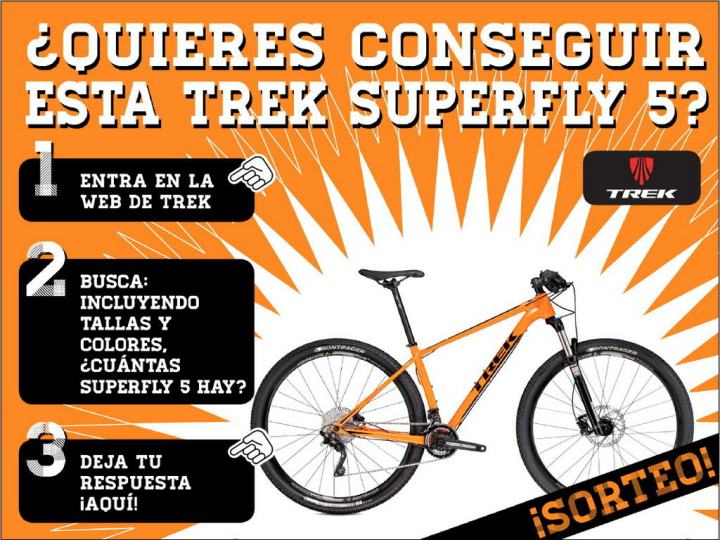 Concurso Trek Superfly 5