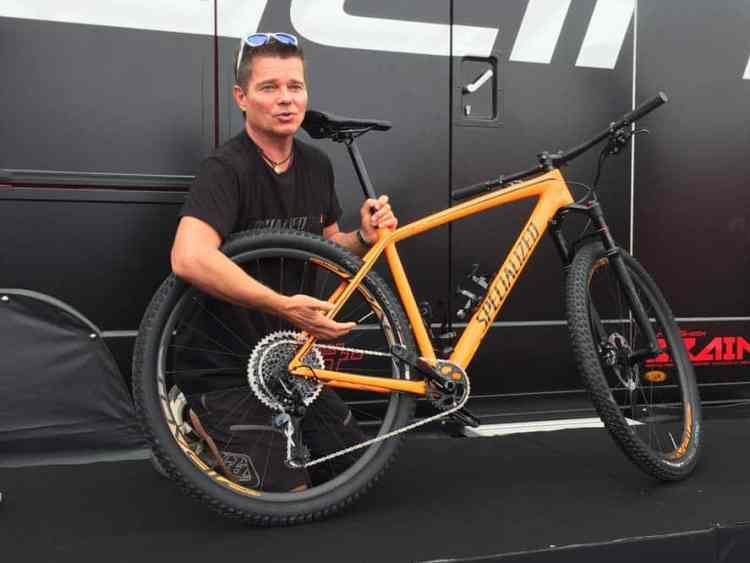 Peter Denk en Specialized