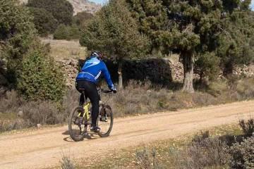 Un ciclista por la Sierra de Guadarrama