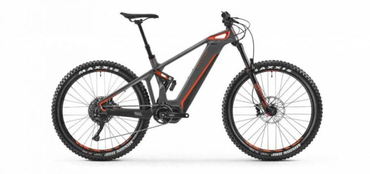 Mondraker e-Crusher Carbon R+ lateral