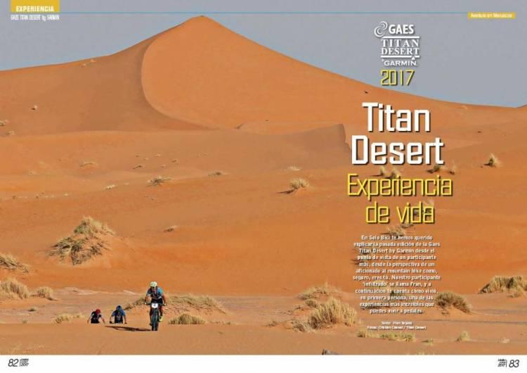 Solo Bici 313 Nino Titan Desert