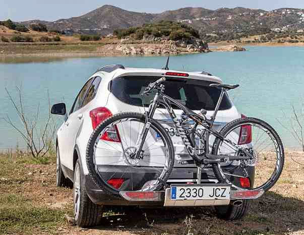 cargar bici coche incorrecto