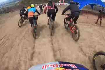 avalancha del Red Bull Holy Bike