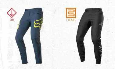 pantalones Fox DH y Trail