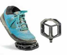 zapatillas y pedales Shimano
