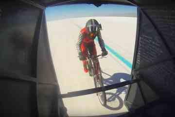 récord de velocidad en bici