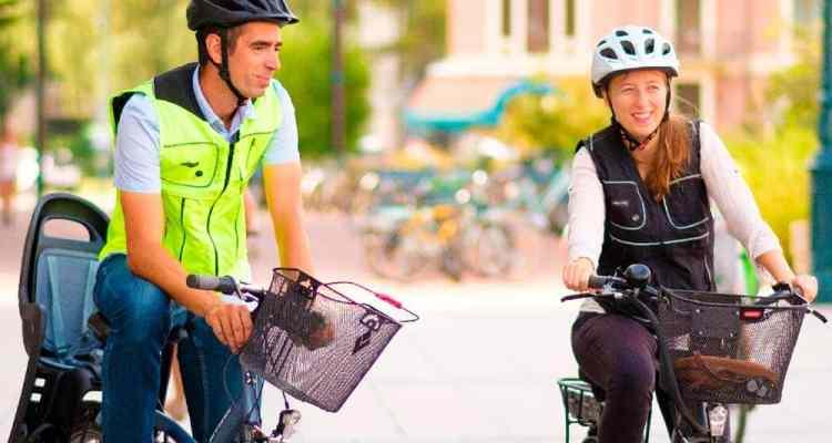 airbag para ciclistas
