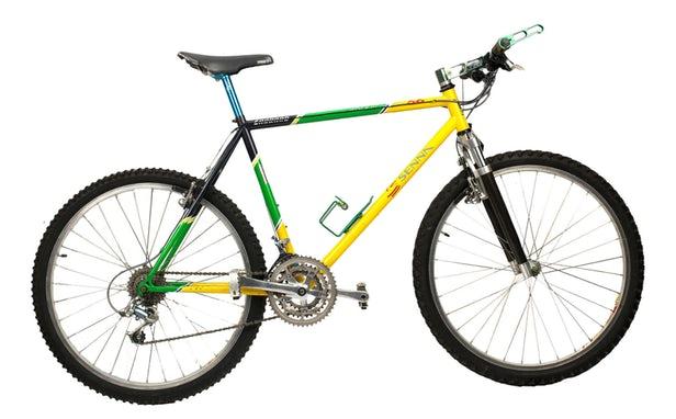 Resultado de imagen para bicicleta ayrton senna