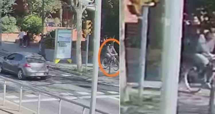 ciclista fugado