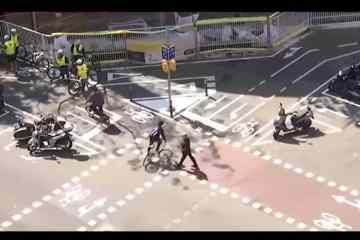 vídeo carril bici barcelona