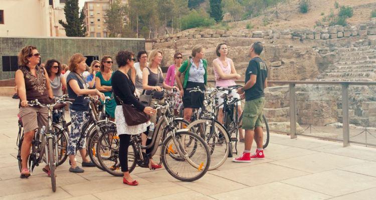 Málaga prohíbe turistas en bici