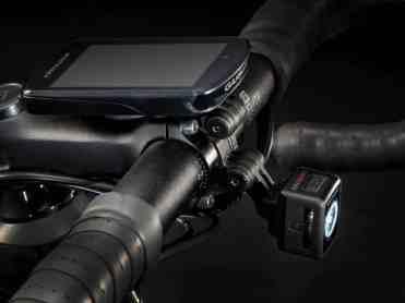 Soporte integrado para la iluminación en el manillar