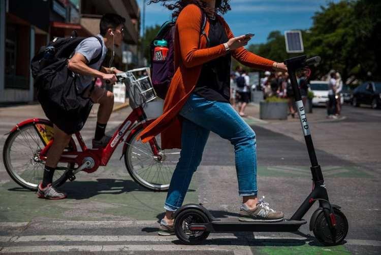 bici y patinete eléctrico