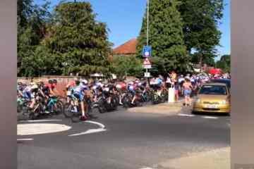 ciclistas se equivocan