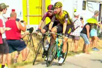 El Tour expulsa Martin y Rowe