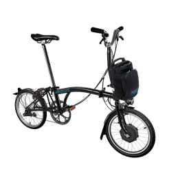 Brompton Electric Negra