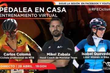 Sesión de entrenamiento Carlos Coloma