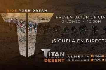 Titan Desert 2020 se va a Almería