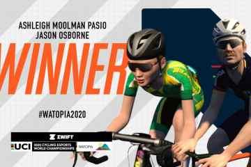 Osborne Moolman ciclismo virtual