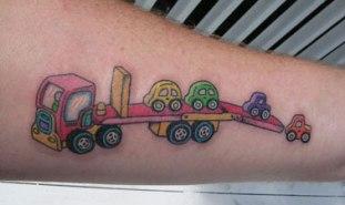 tatuaje camión