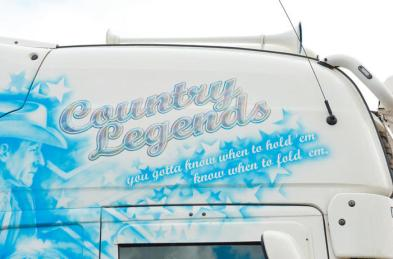 Detalle Scania R620 Country Legends