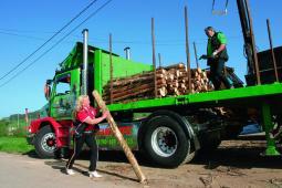 Transporte troncos Cantabria