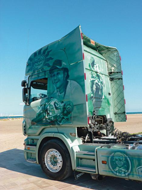 Scania R620 Rossi