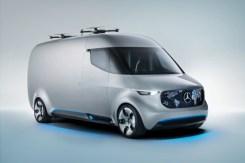 Mercedes-Benz Vision Van - Exterior ;Mercedes-Benz Vision Van – Exterior;