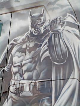 Scania S580 Batman