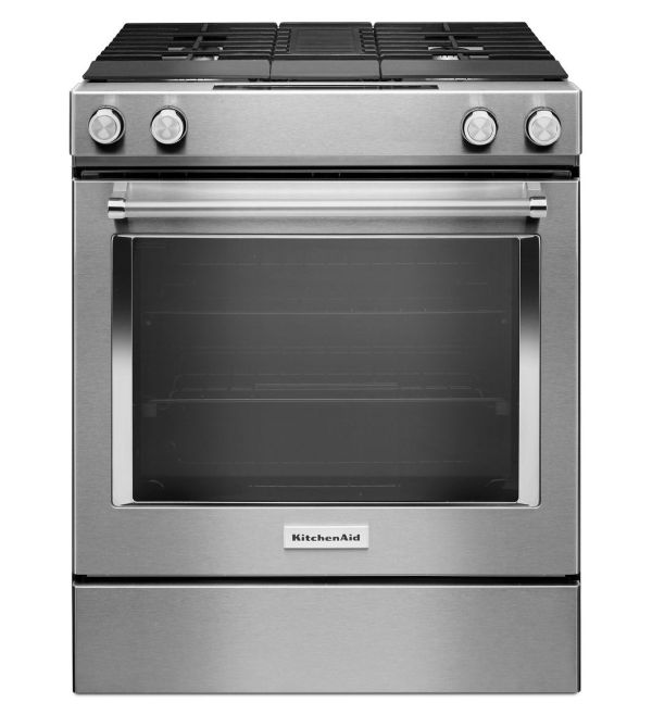 Ksdg950ess Kitchenaid 30 4 Burner Dual Fuel Downdraft