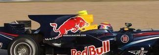Nuevo elemento aerodinámico de los Red Bull, similar a la aleta de untiburón