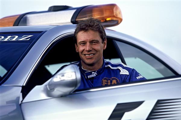 Bernd Maylander, el piloto del Coche deSeguridad