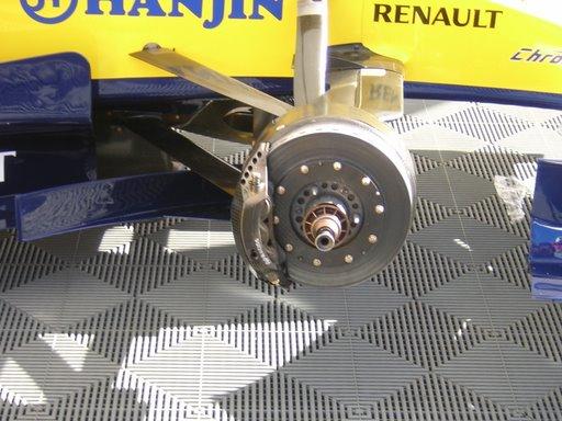 Freno de disco de un Fórmula1
