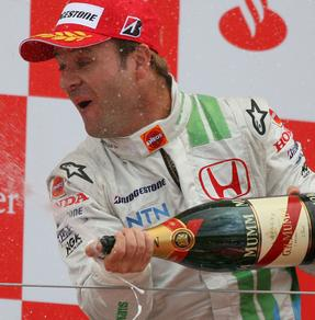 Barrichello no sub�a al podio desde 2005